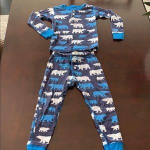 GUC Hatley Toddler Boys Polar Bear Pajamas!!